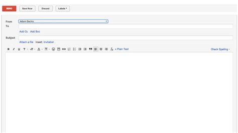 open compose takes you straight to gmail s new email