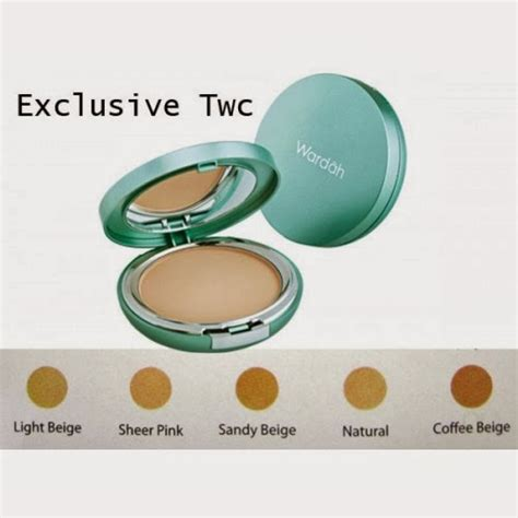Bedak Wardah Two Way Cake Exclusive lotus story wardah exclusive two way cake ini