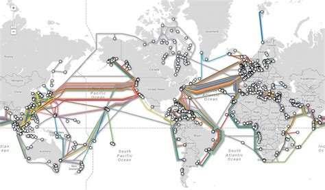 undersea cable map undersea cables string together the global