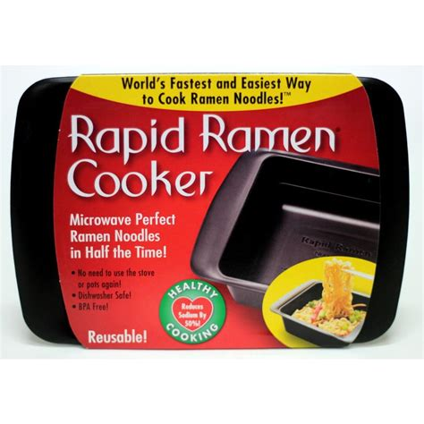 Rapid Ramen Cooker Microwave Bowl Mangkuk Ramen rapid ramen black microwave noodle cooker rrc 2005 the home depot