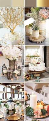 Country Style Table Decorations Top 10 Elegant And Chic Rustic Wedding Color Ideas