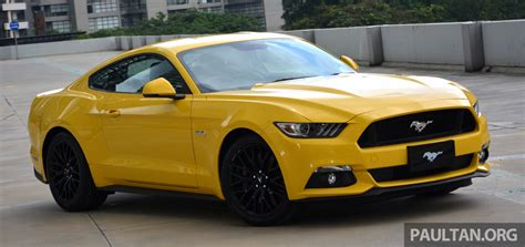 what makes a mustang a gt ford mustang makes its official debut in malaysia 2 3l