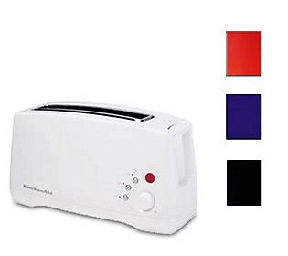 Toaster Single Slot kitchenaid ktt460 single slot two slice toaster qvc