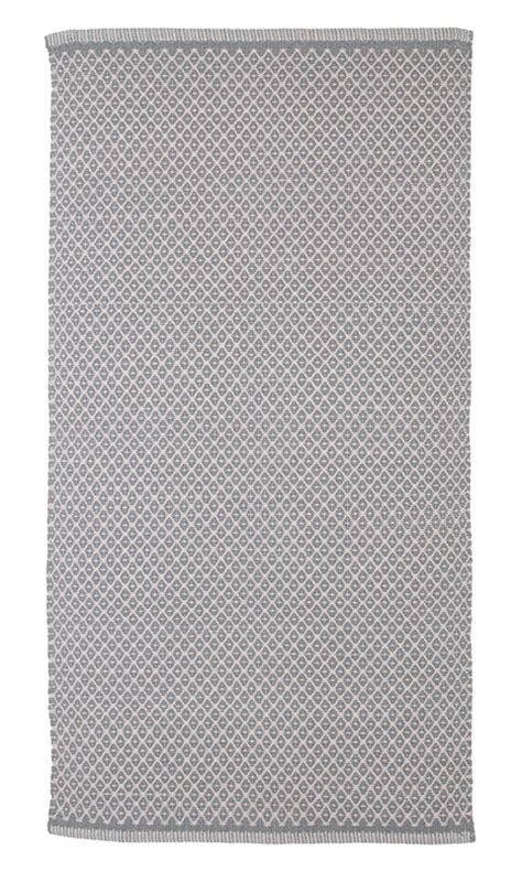 Teppiche Bei 2911 by Teppich Design Aspegren Rhombe Gray 70x130 Aspegrenaspegren