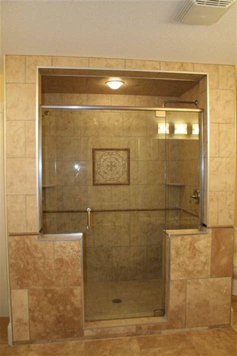 custom walk in showers custom walk in showers with granite counter top and