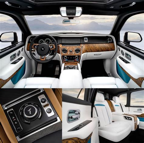 rolls royce cullinan interior rolls royce cullinan interior leaked image indian autos