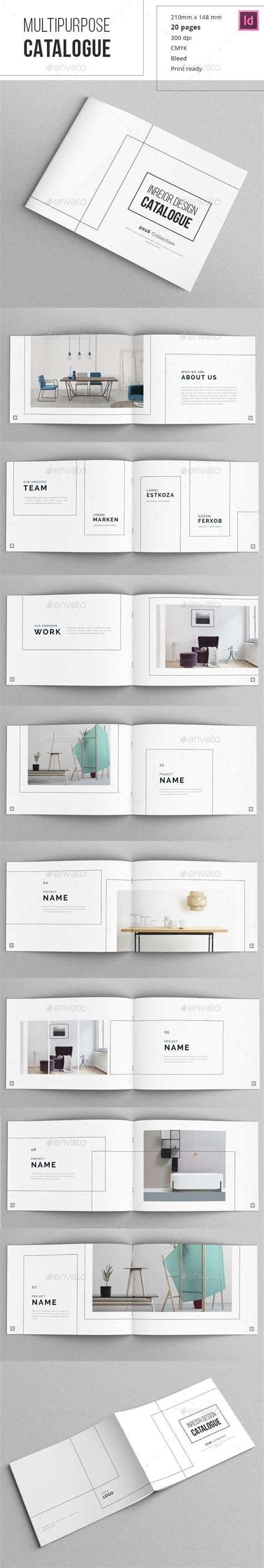 indesign booklet template minimal indesign catalogue the shape typography and