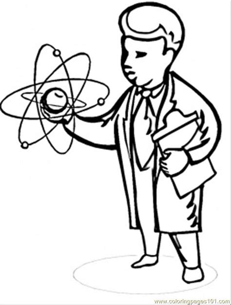 coloring book for scientists scientist coloring page free physics coloring pages