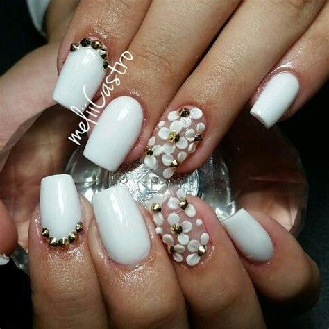 imagenes de uñas acrilico blancas 17 best images about u 241 as hermosas melyssa castro on