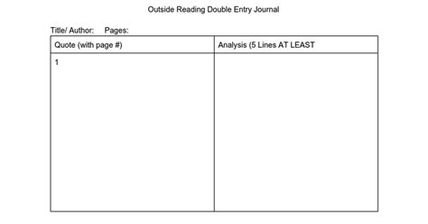 journal template for google docs double entry journal template google docs