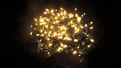 String Lights 300 Warm White Twinkle Led Bulbs 15m Warm White String Lights