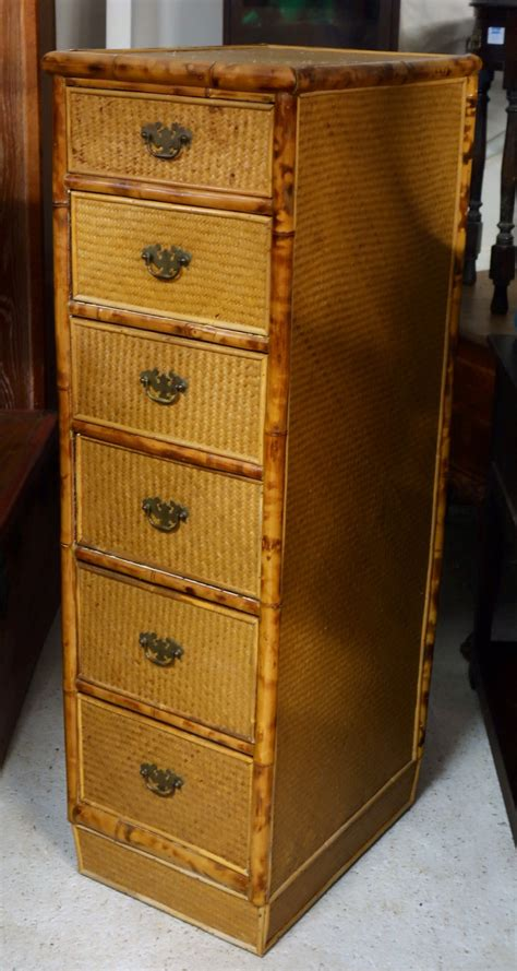 tall narrow dresser uk druce co ltd tall narrow bamboo rattan chest of