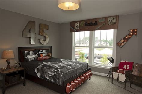 football themed bedrooms football themed kids room eclectic boy s room bia