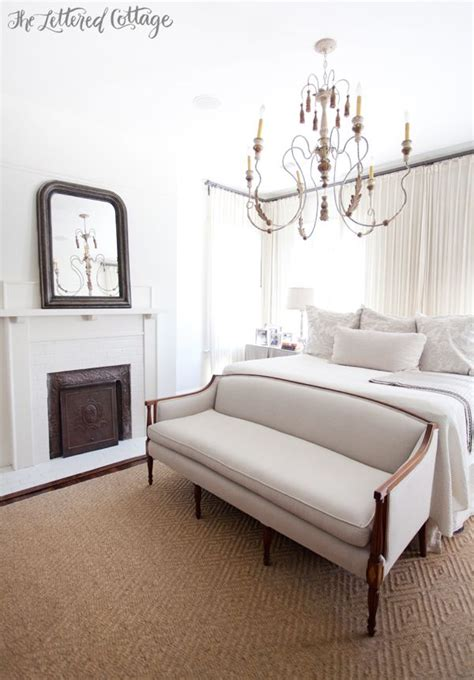 white chandelier bedroom master bedroom white and neutrals fireplace