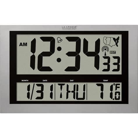 la crosse technology xl atomic digital clock
