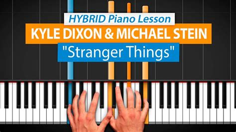 tutorial piano keane how to play quot stranger things opening theme quot by k dixon