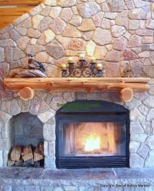 rustic fireplace log mantel log fireplace mantel rustic rustic luxury how to get this new d 233 cor trend at home