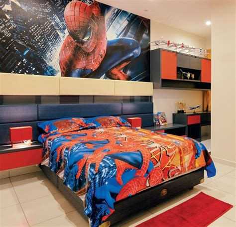 spiderman theme bedroom a sri lankan expat s simple and spacious home in klang expatgo