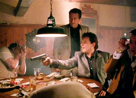 gangster movie joe pesci joe pesci with robert deniro in quot goodfellas quot 1990 joe