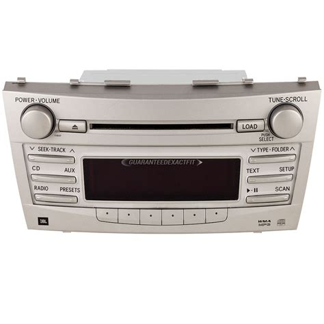 Toyota Camry Radio 2010 Toyota Camry Radio Or Cd Player Parts From Car Parts