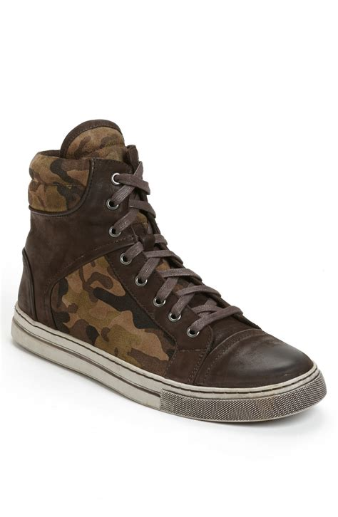 kenneth cole sneakers for kenneth cole header cap toe sneaker in brown for