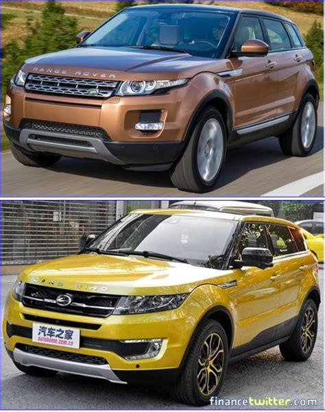 land wind vs land rover meet land wind china s clone copy of uk s range rover evoque