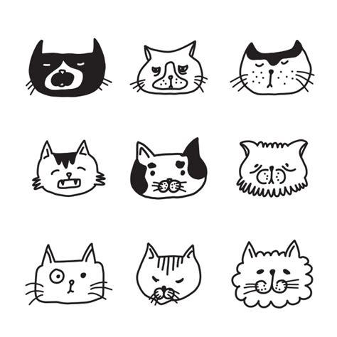 free vector doodle cat cat doodle www pixshark images galleries with