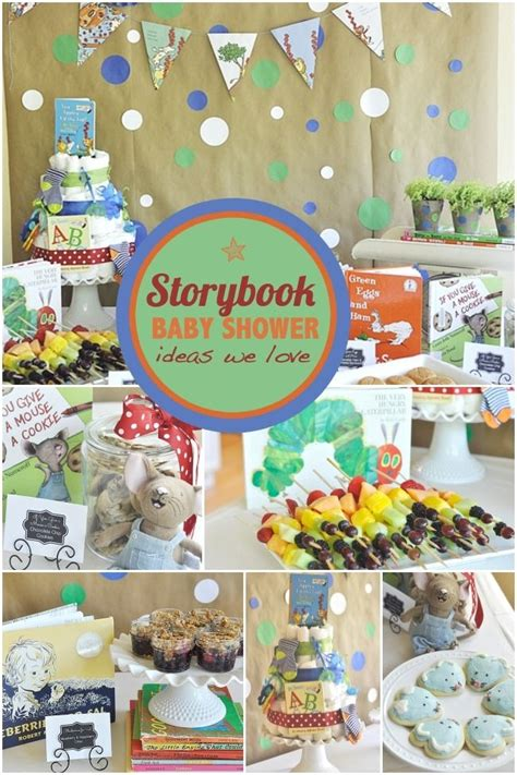 Baby Shower Story by Storybook Baby Shower Ideas For Boys Baby Shower