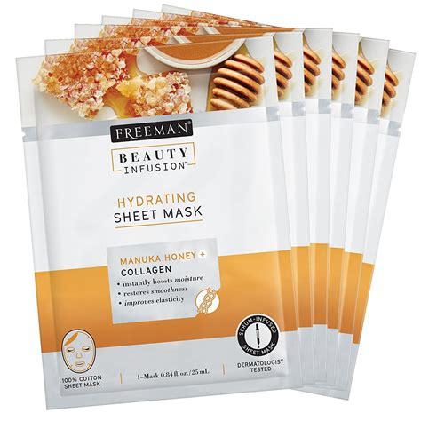 The Shop Honey Mask Sheet freeman hydrating manuka honey collagen sheet mask reviews in masks chickadvisor