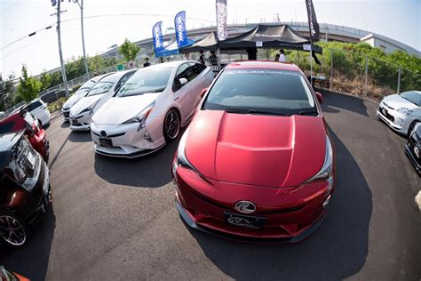 ricer car exhaust toyota prius gathering in is all about exhausts