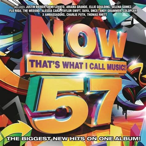 Now 57 Various Artists   now thats what i call music 57 2016
