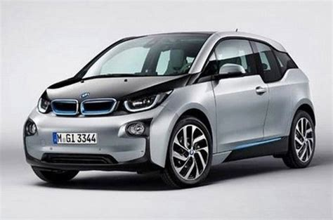 2014 bmw i3 electric car revealed in leaked images