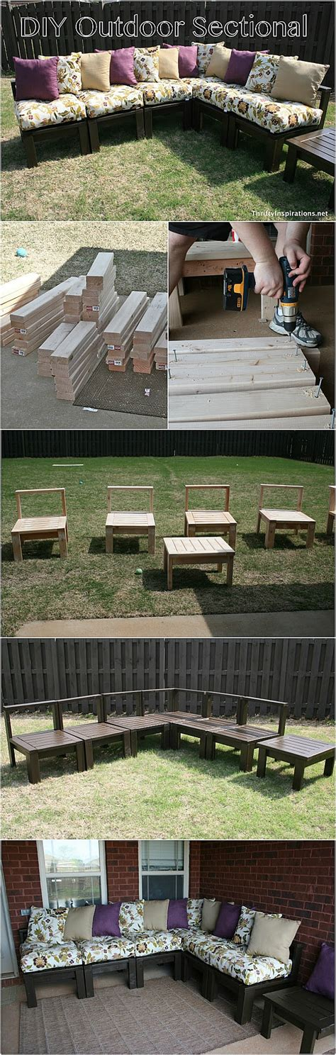build your own outdoor sectional diy outdoor sectional the 36th avenue