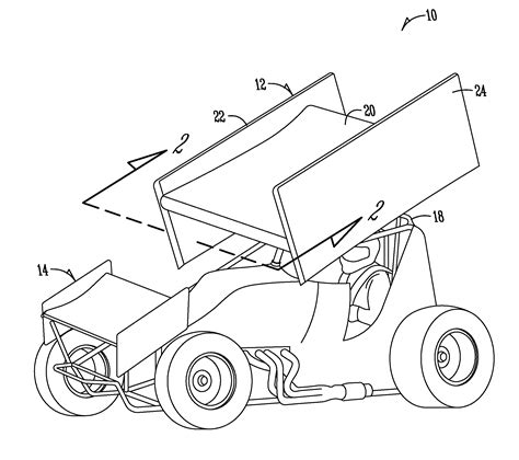 sprint car coloring page pin sprint car colouring pages on pinterest