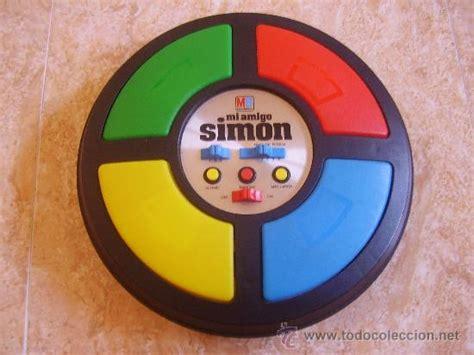simon simon juegos de mi amigo simon de mb electronics 1 981 made i comprar juegos de mesa antiguos en