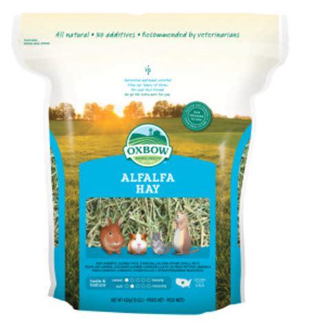 Alfalfa Hay Oxbow oxbow product categories petmart pte ltd