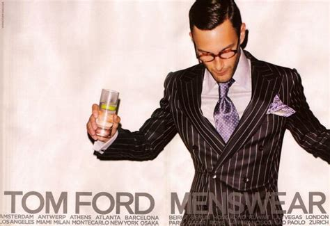 A Preview Of The Summer 2008 Collection From New Look by Tom Ford Menswear Summer 2008 Ad Caignpreview