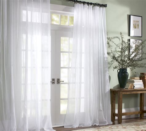 upgrade white curtains 10 ways to update for summer pottery barn