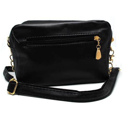 tas selempang wanita model rivet black jakartanotebook