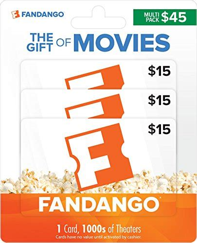 15 Fandango Gift Card - top 10 best sellers in thank you appreciation cards november 2017