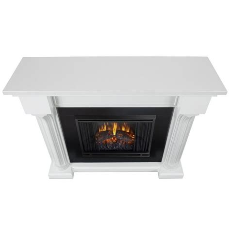 Fireplace Indoor Electric by Real Verona Indoor Electric Fireplace In White 5420e W