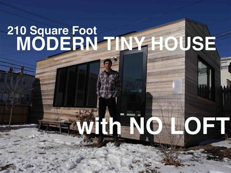 Tiny Homes 500 Sq Ft brian levy s 210 square foot modern tiny house with no