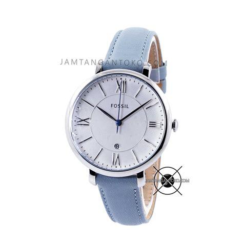 Harga Jam Tangan Wanita Merk Fossil Original harga sarap jam tangan fossil jacqueline blue es3821