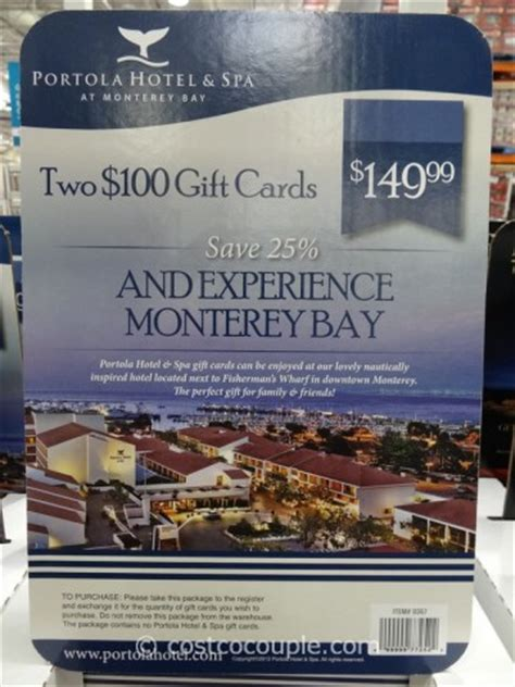 Spa 360 Gift Card - portola hotel and spa discount gift card