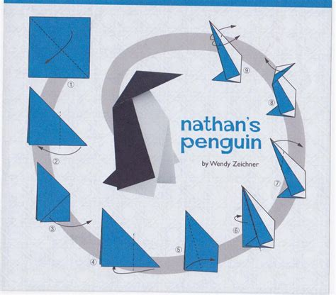 How To Make A Paper Penguin - origami penguin comot