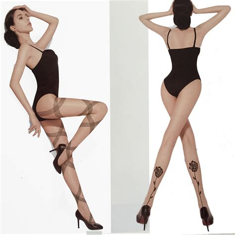 patterned tights in style 2015 2015 summer style sexy charming floral pattern pantyhose