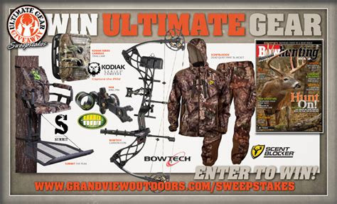 Hunting Gear Giveaways - ultimate gear giveaway hunting fishing and shooting news on grand view outdoors