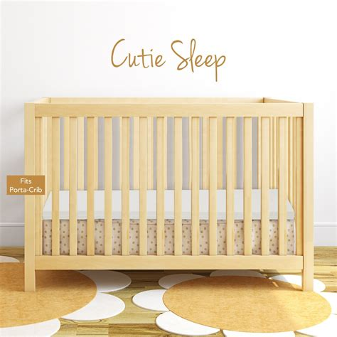 Mini Crib Memory Foam Topper Milliard Bedding The Memory Foam Mini Crib Mattress