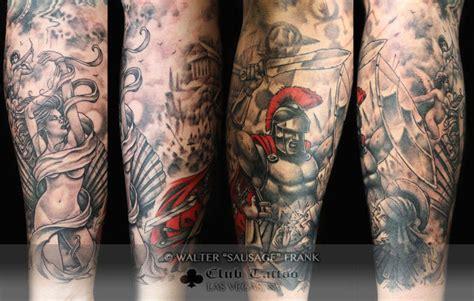 ancient roman tattoos sausage black and grey rome ancient rome cherub