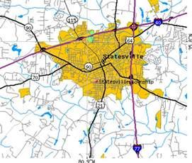 statesville carolina map statesville township iredell county carolina nc